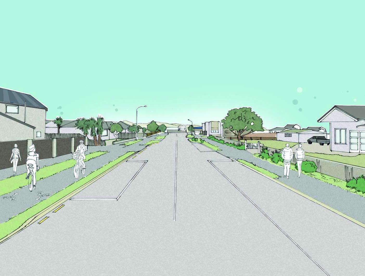 ' Artist impression: Picton Avenue