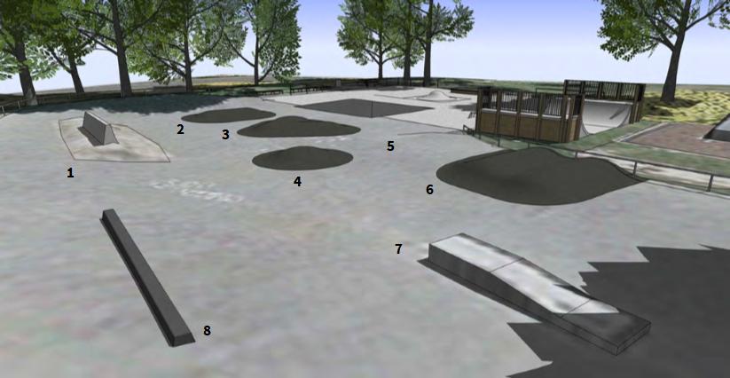 Image of asphalt area