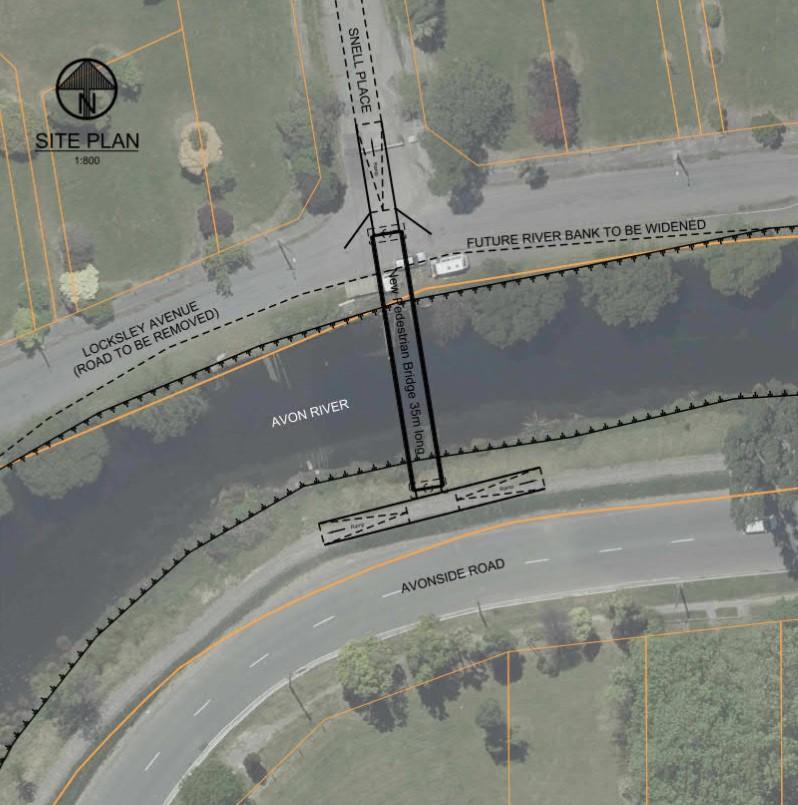 Snell bridge plan