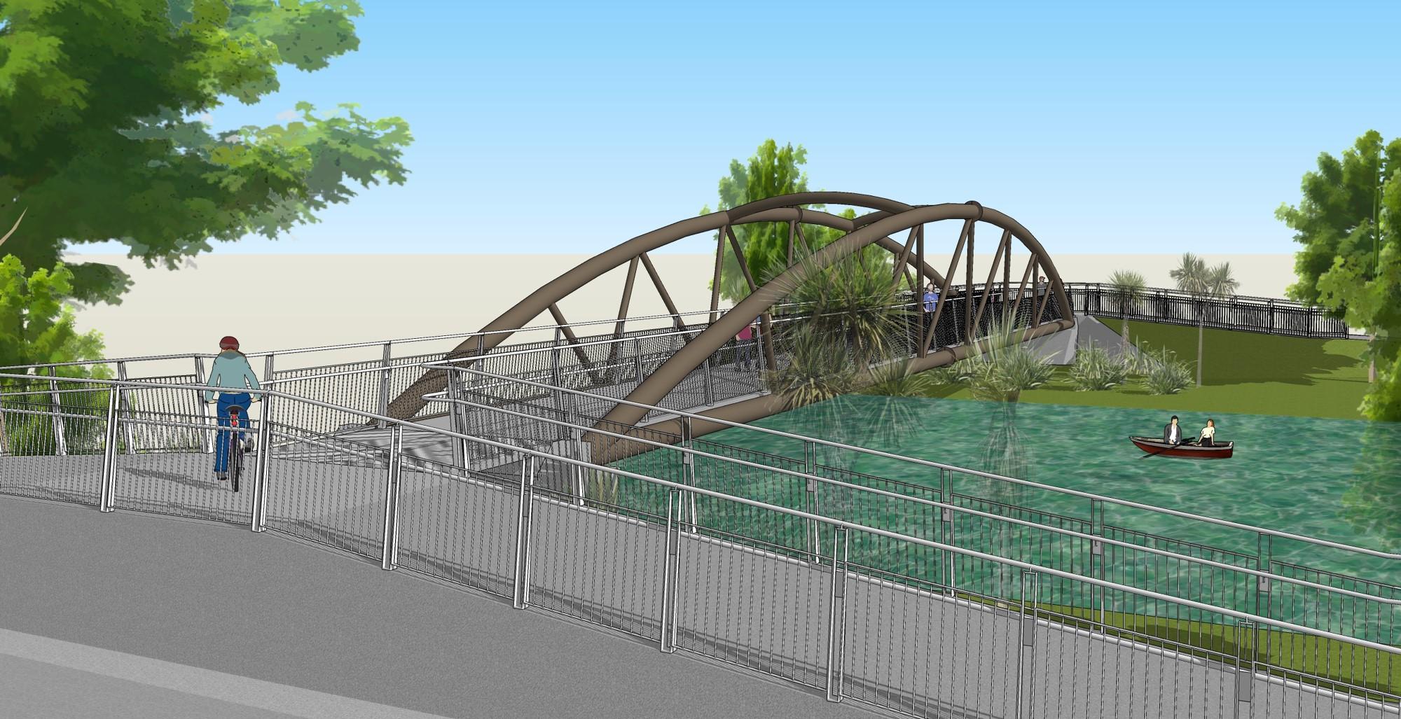 'Medway Bridge concept 1