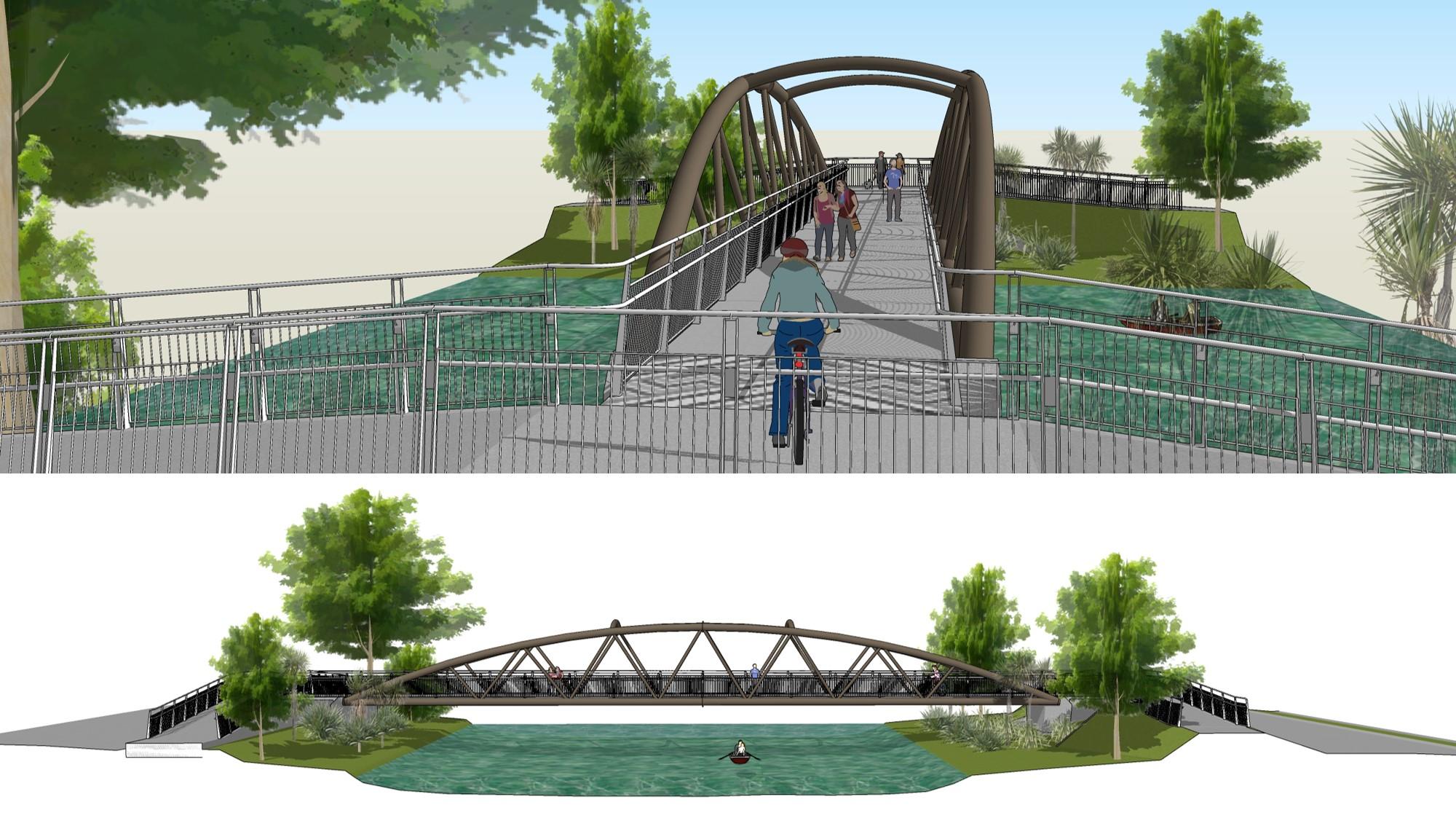 'Medway Bridge concept 2
