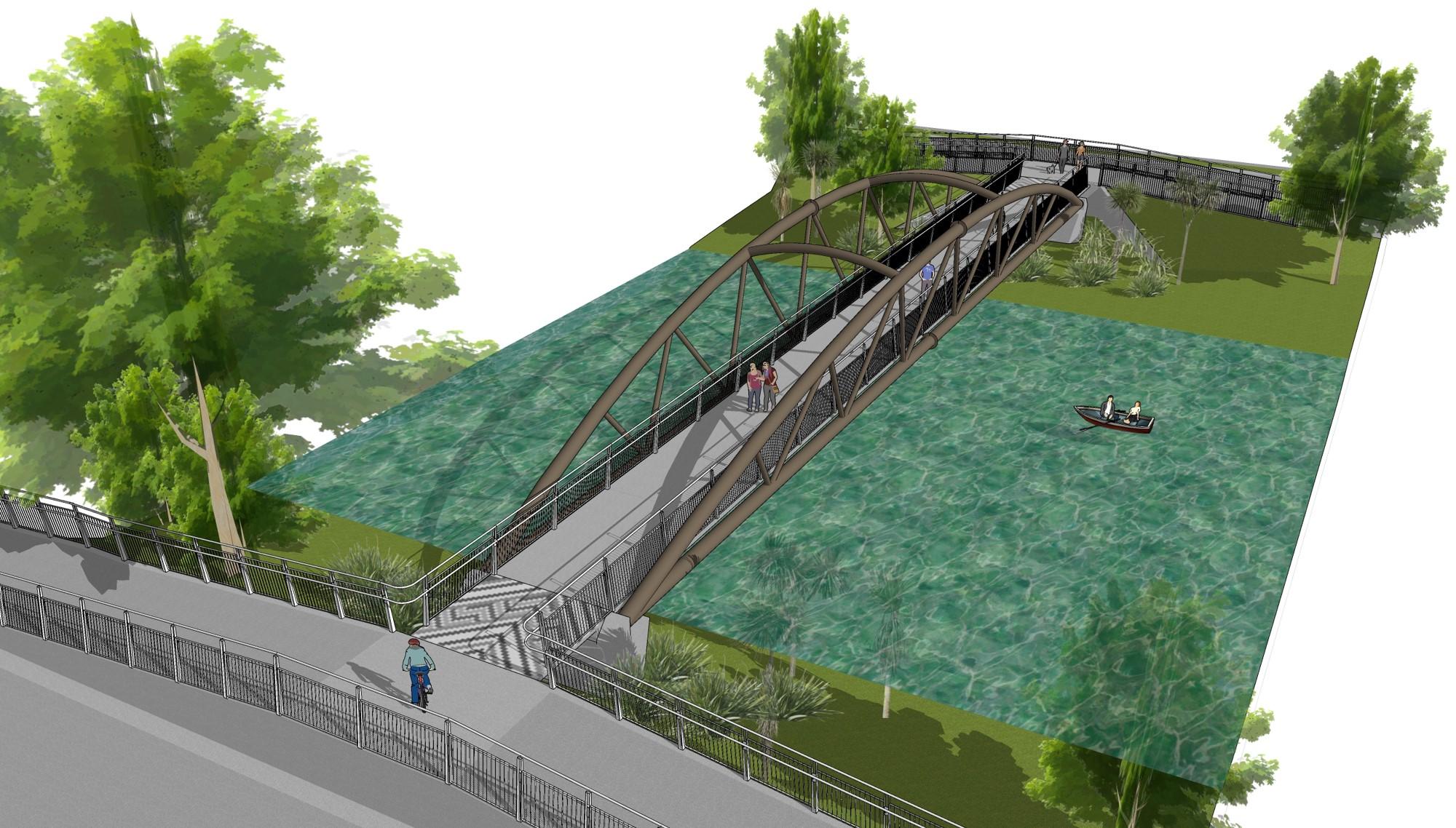 'Medway Bridge concept 3