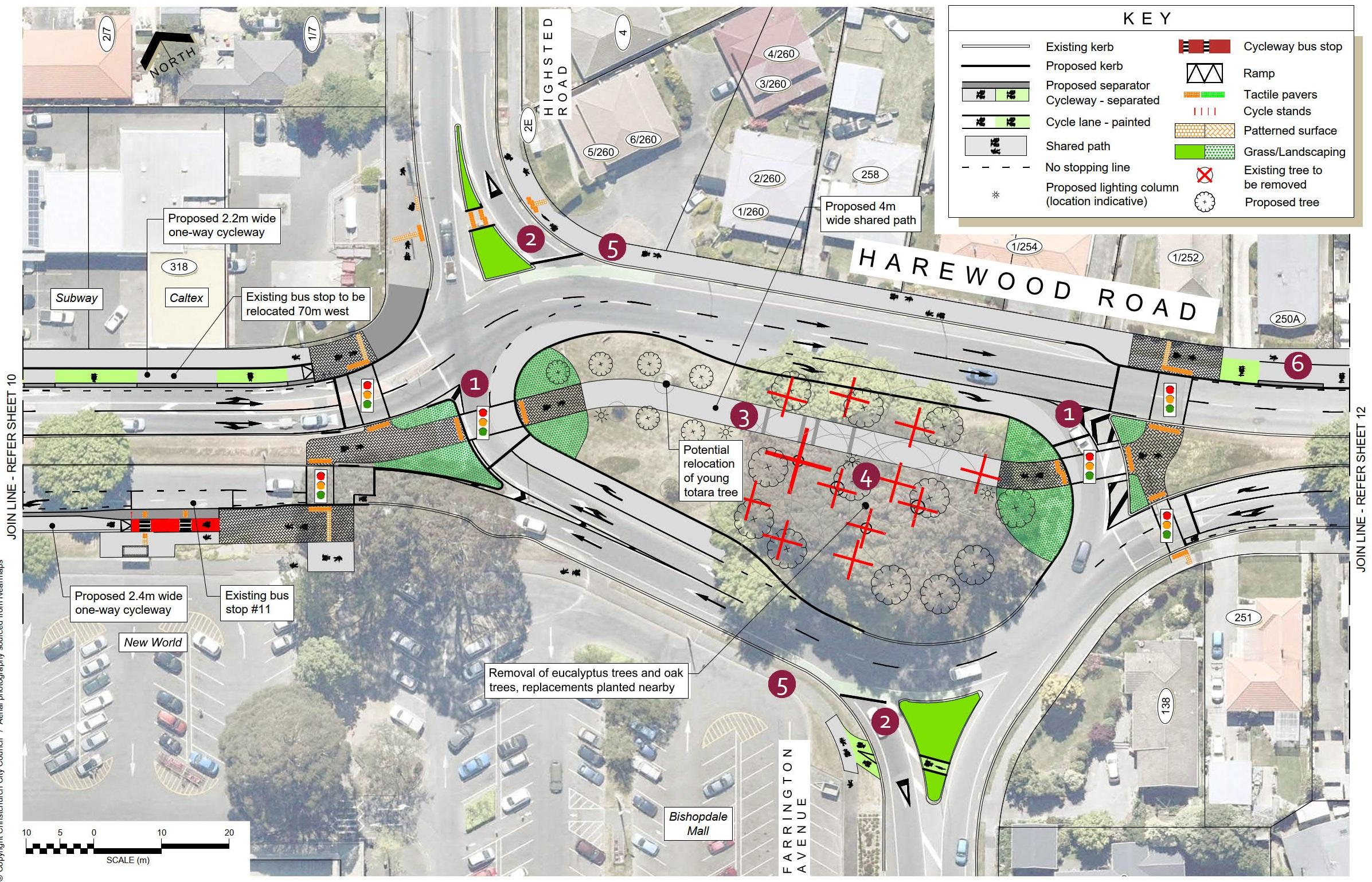 Plan 11 - Bishopdale Roundabout
