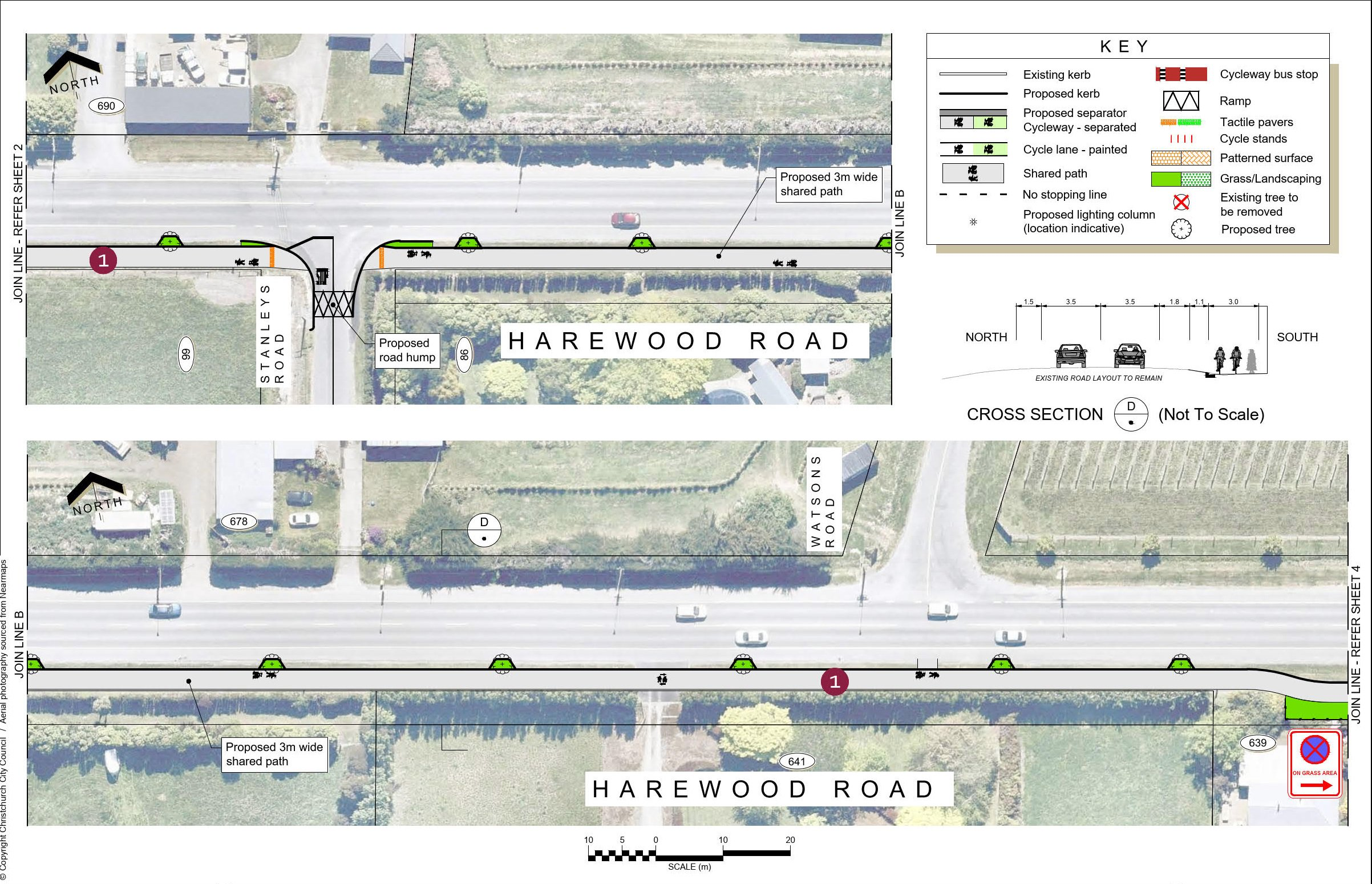 Plan 3 - 690 Harewood Road to Watsons Road