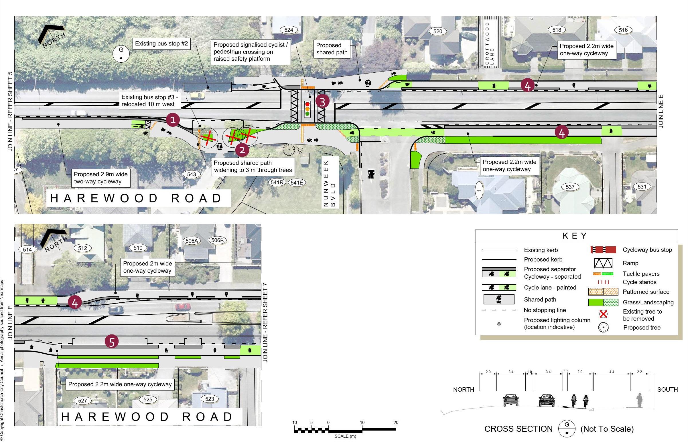 Plan 6 - 547 to 519 Harewood Road