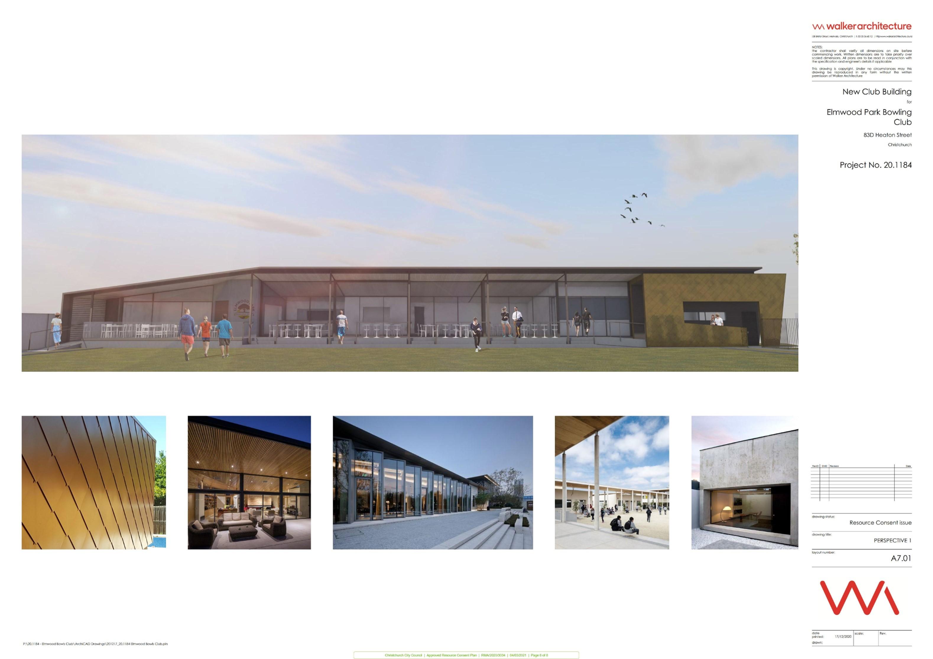Elmwood Bowling Club plan 6 of 8