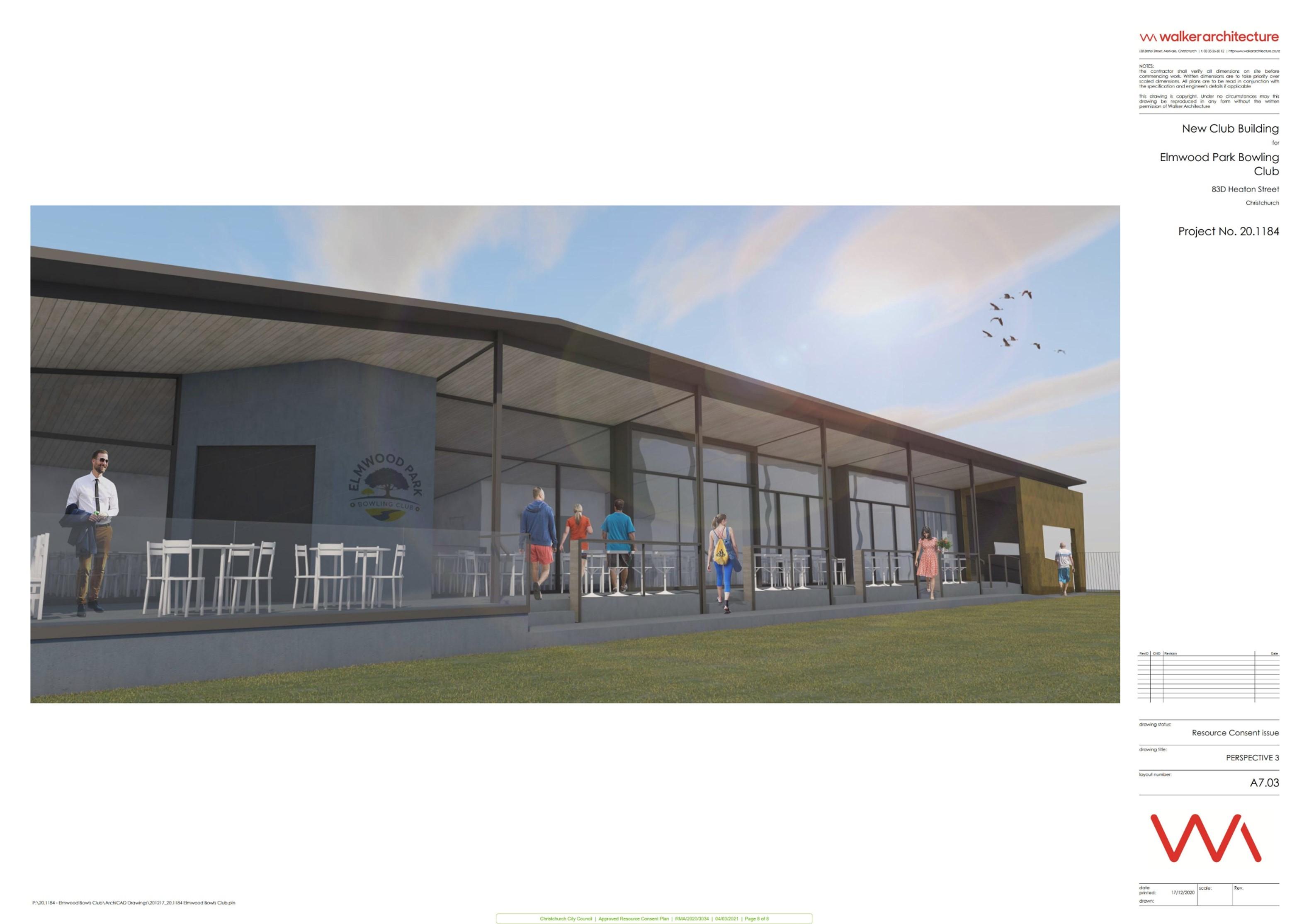 Elmwood Bowling Club plan 8 of 8