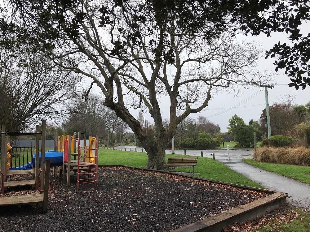 Playground in Walnut Tree Park