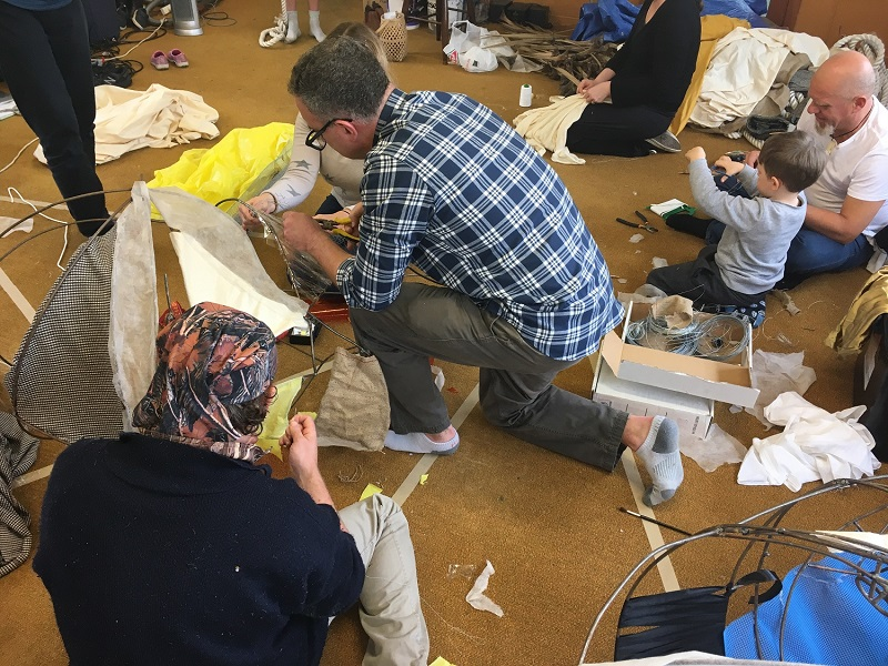 Free Theatre Mask and Puppet Workshops