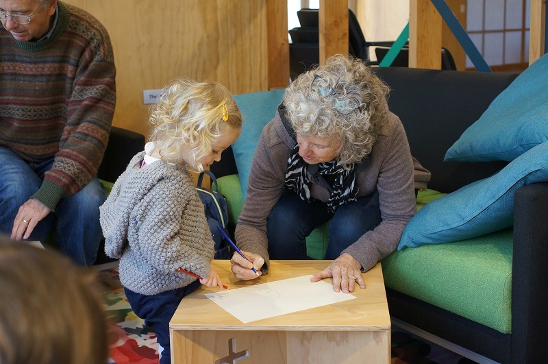 Grandparents Show Development