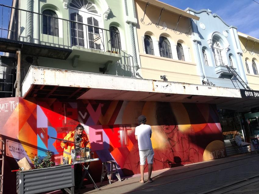 New Regent Street mural