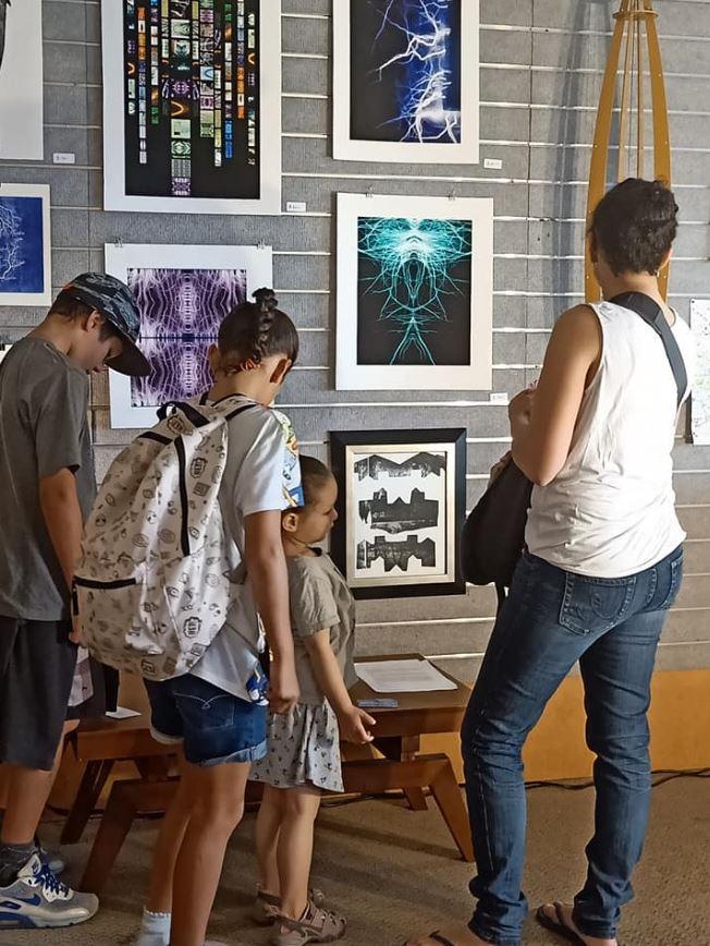 Art Science Tent