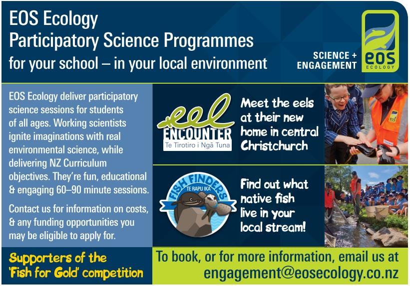 'EOS ecology flyer