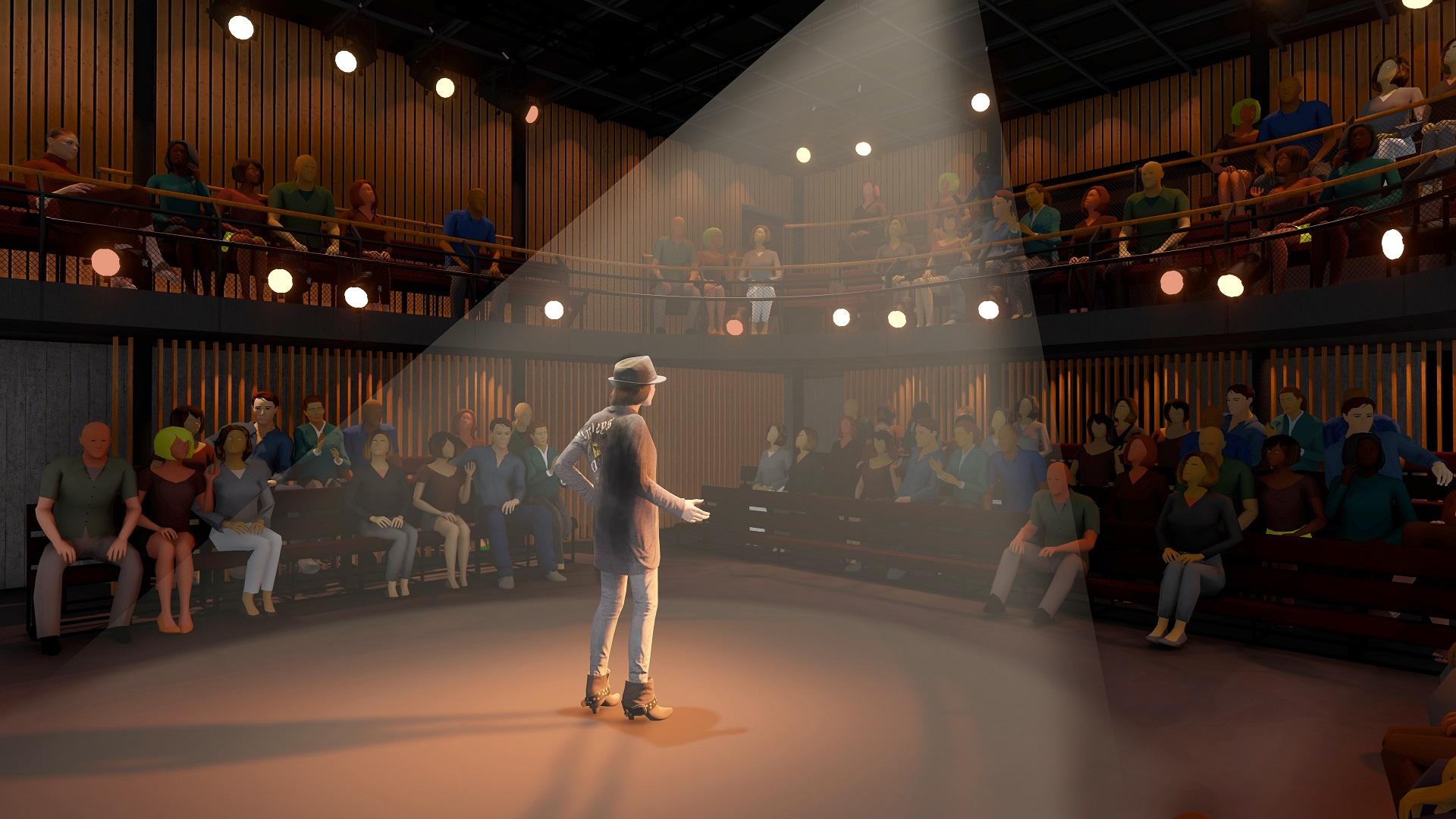 Court Theatre studio theatre - preliminary design