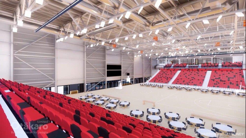Metro Sports Facility show court