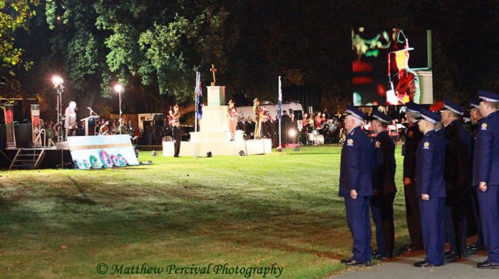 'ANZAC Dawn Service at Cranmer Square