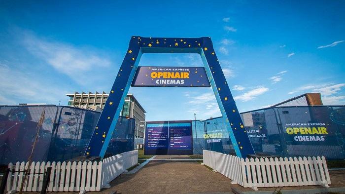 'Openair cinema at Rauora Park