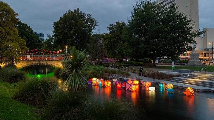 'Lantern Festival at Scott Statue Reserve