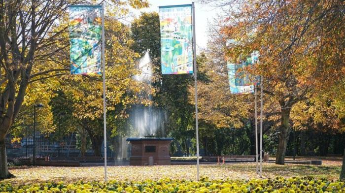 'Bowker Fountain in Victoria Square