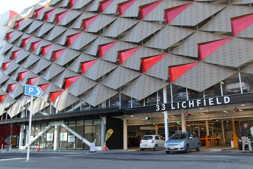 'Lichfield car park building