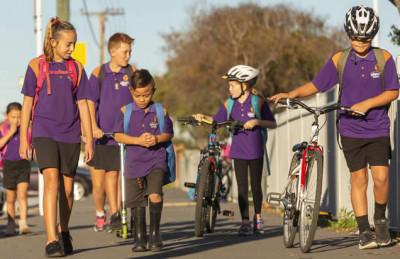 Develop a school travel plan : Christchurch City Council